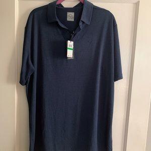 NWT Men's Callaway Opti-Dri Polo Golf Shirt Size L